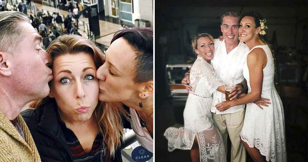 "Фото Втроем веселее. Супруги во время карантина ""женились"" на любовнице"