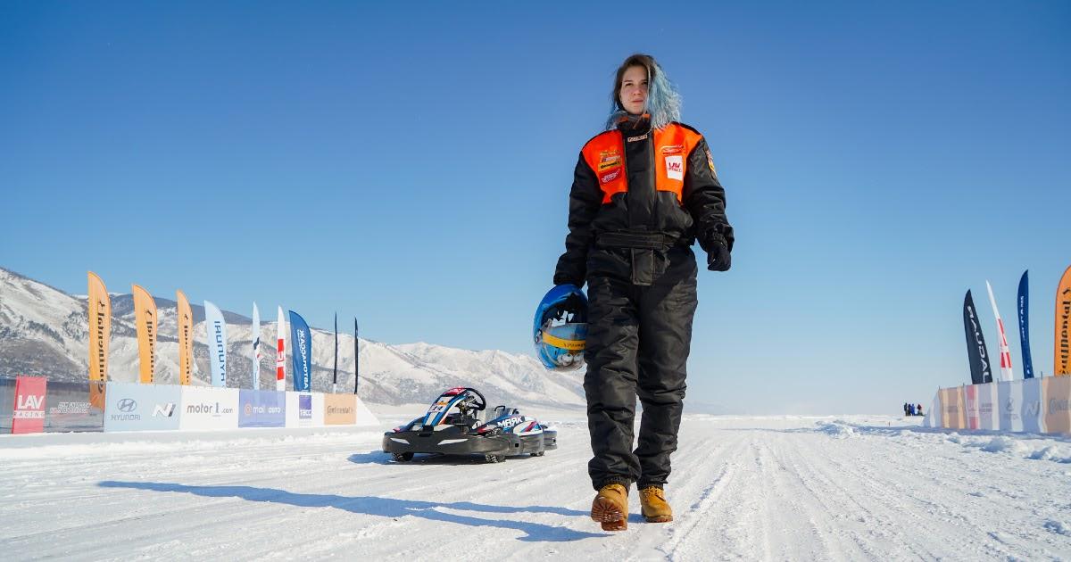 """Фото """"Дни скорости на льду Байкала-2020"""": четыре результата вошли в Книгу рекордов России"""