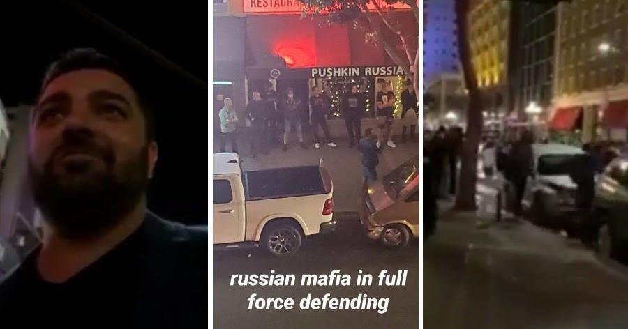 Погромщики не тронули русский ресторан в США, увидев друзей хозяина