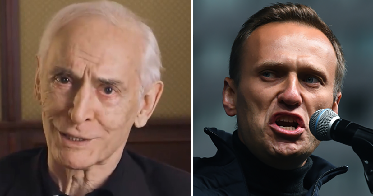 """Навальный назвал Ланового """"человеком без совести"""" и """"позором страны"""""""
