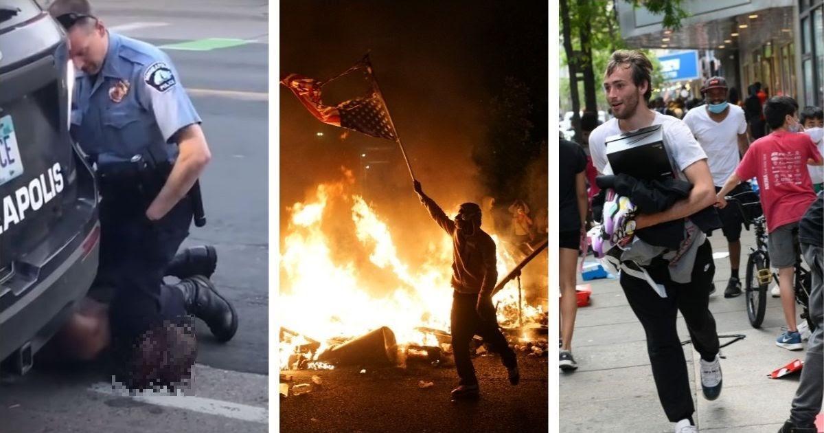 """Фото """"Хваленая демократия"""" против мародеров: как понимать погромы в США"""