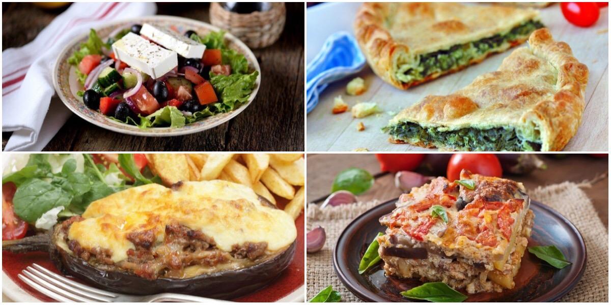 ТОП-7 греческих блюд