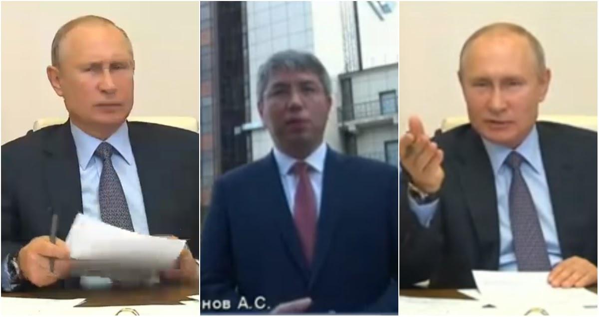 «Где 400 миллионов?!»: Путина крайне возмутил «потерявший» деньги Цыденов