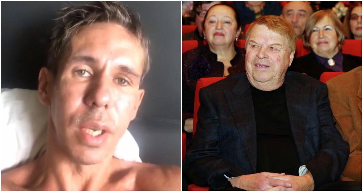 Панин назвал «бездарным» Михаила Кокшенова во время прощания в крематории