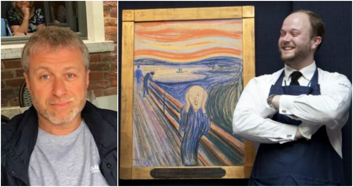 Абрамович купил картину «Крик» Мунка за баснословную сумму