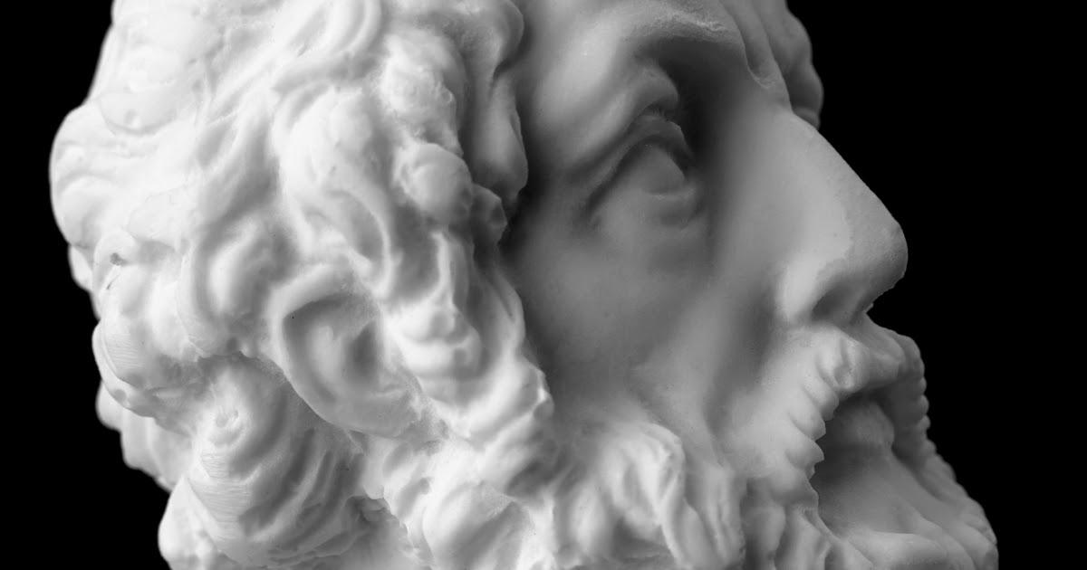 """Фото Поэт Гомер: биография и творчество. Поэмы Гомера """"Илиада"""" и """"Одиссея"""""""
