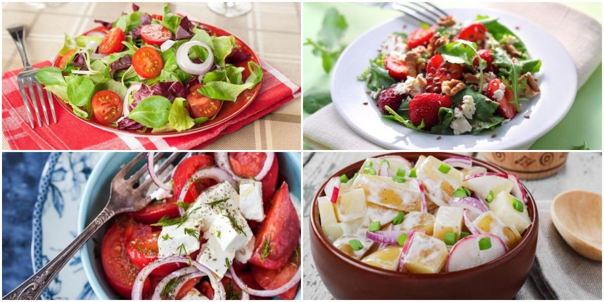 Фото Подборка летних салатов