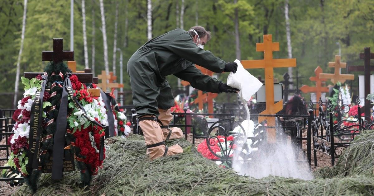 Мэрия: смepтность в Москве в мае выросла почти на 60%