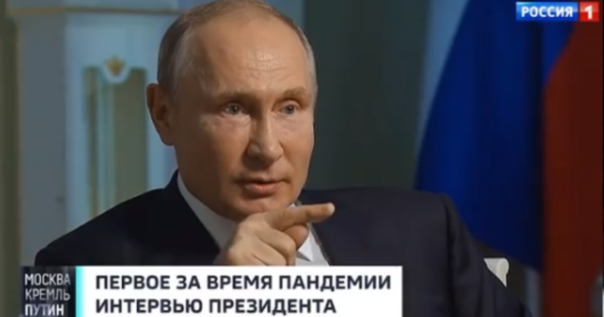 Фото Путин: Россия пережила коронавирус с минимальными потерями в отличие от США