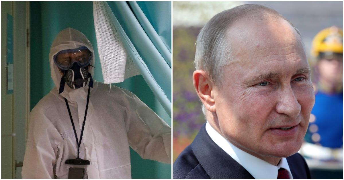 Ритмично и уверенно. Что не так с заявлением Путина о выходе из эпидемии