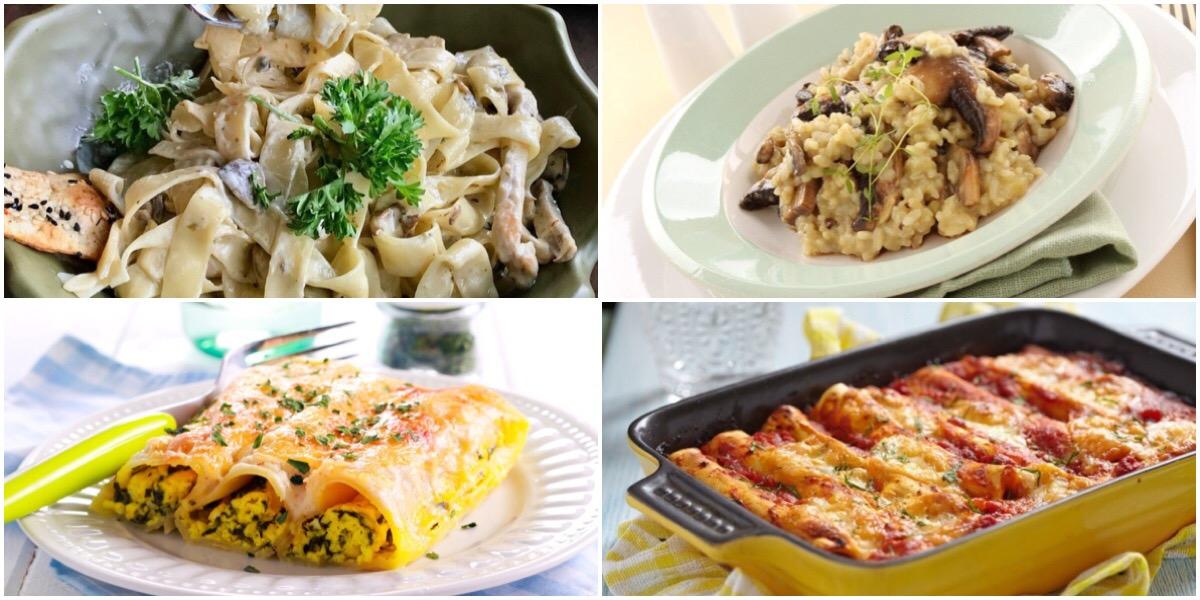 Подборка рецептов для любителей итальянской кухни