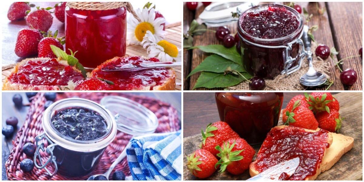 Подборка рецептов варенья из летних ягод