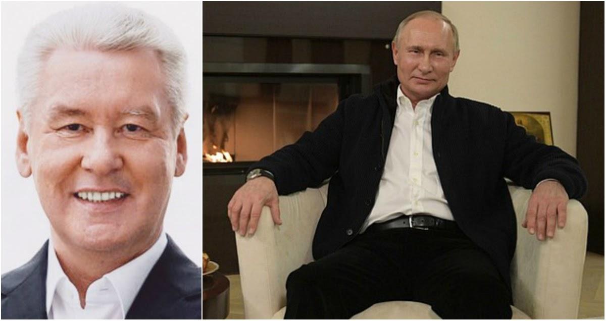 Собянин: не факт, что Путин пойдет на пятый срок