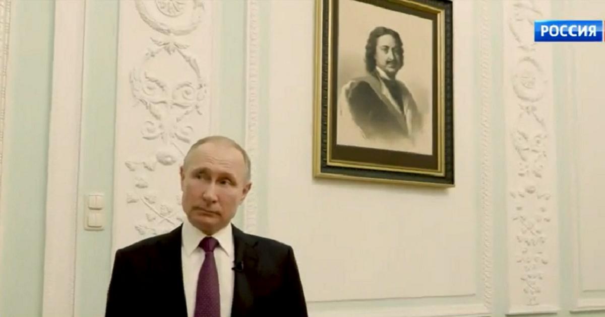 Путин и тайная комната. Президент показал место для «жестких разговоров»