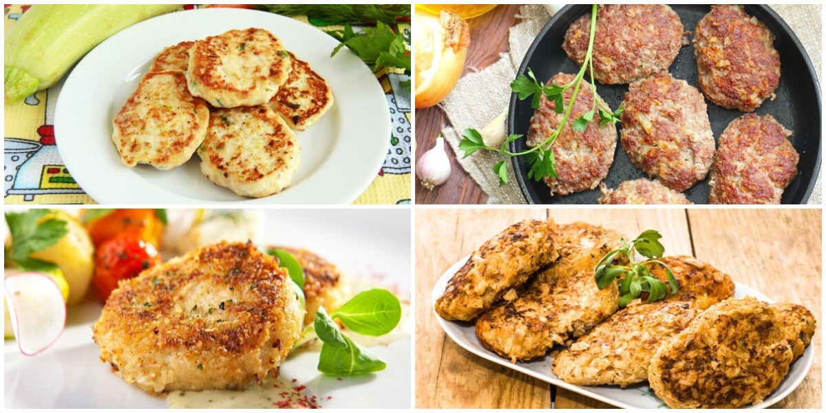 ТОП-7 рецептов мясных котлет на каждый день
