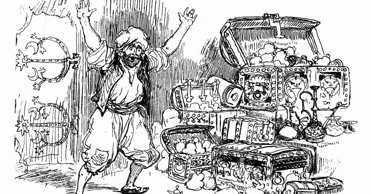 """Фото Что такое """"сим-сим"""" из сказки про Али-Бабу? Что значит сим-сим откройся? Смысл слов """"сим-сим"""" из сказки"""
