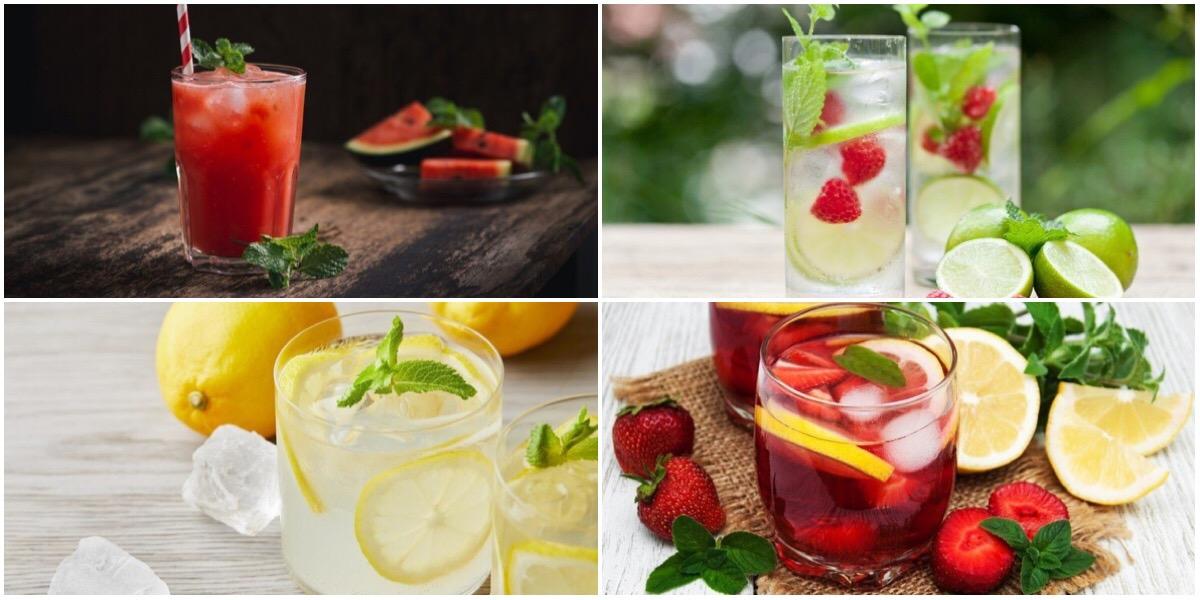 Подборка летних и освежающих напитков