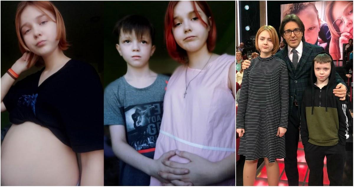13-летняя звезда ток-шоу и ее 10-летний друг стали родителями