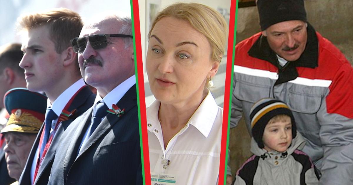 Николай Лукашенко - сын президента: мать Коли Лукашенко, фото