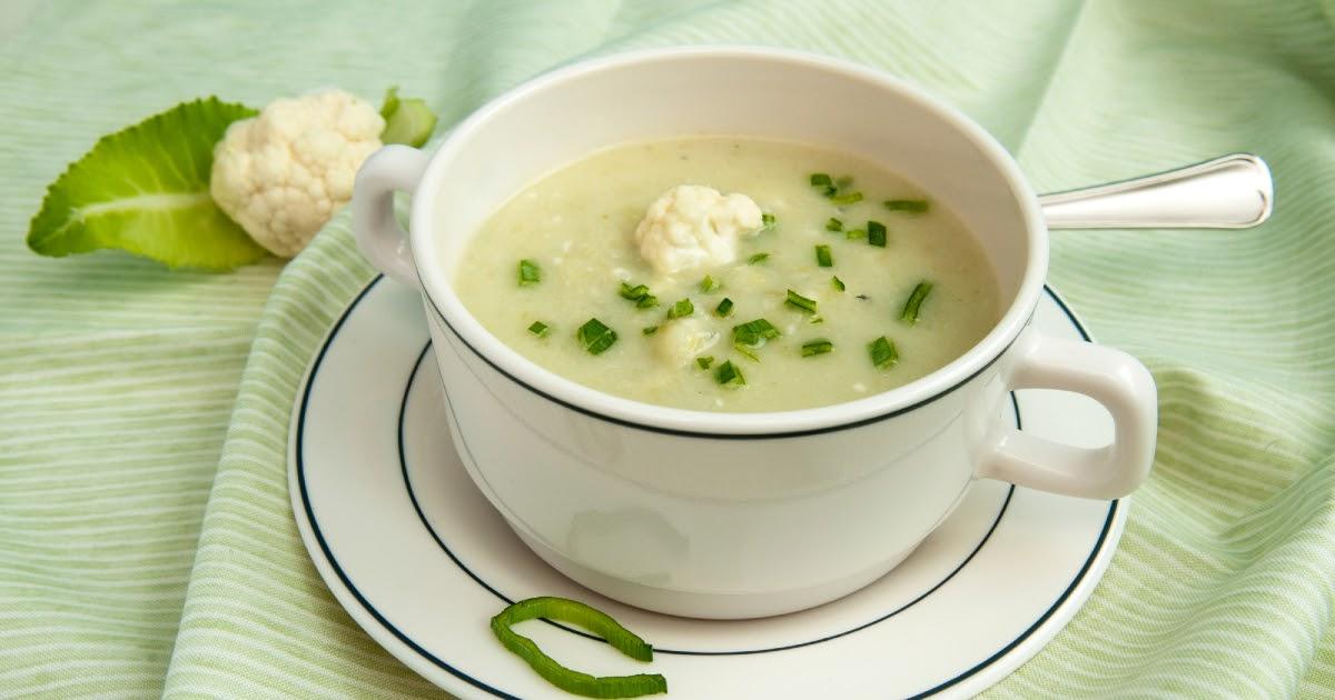 Что приготовить на обед? Что приготовить на обед из простых продуктов: суп из цветной капусты, писто и другие блюда
