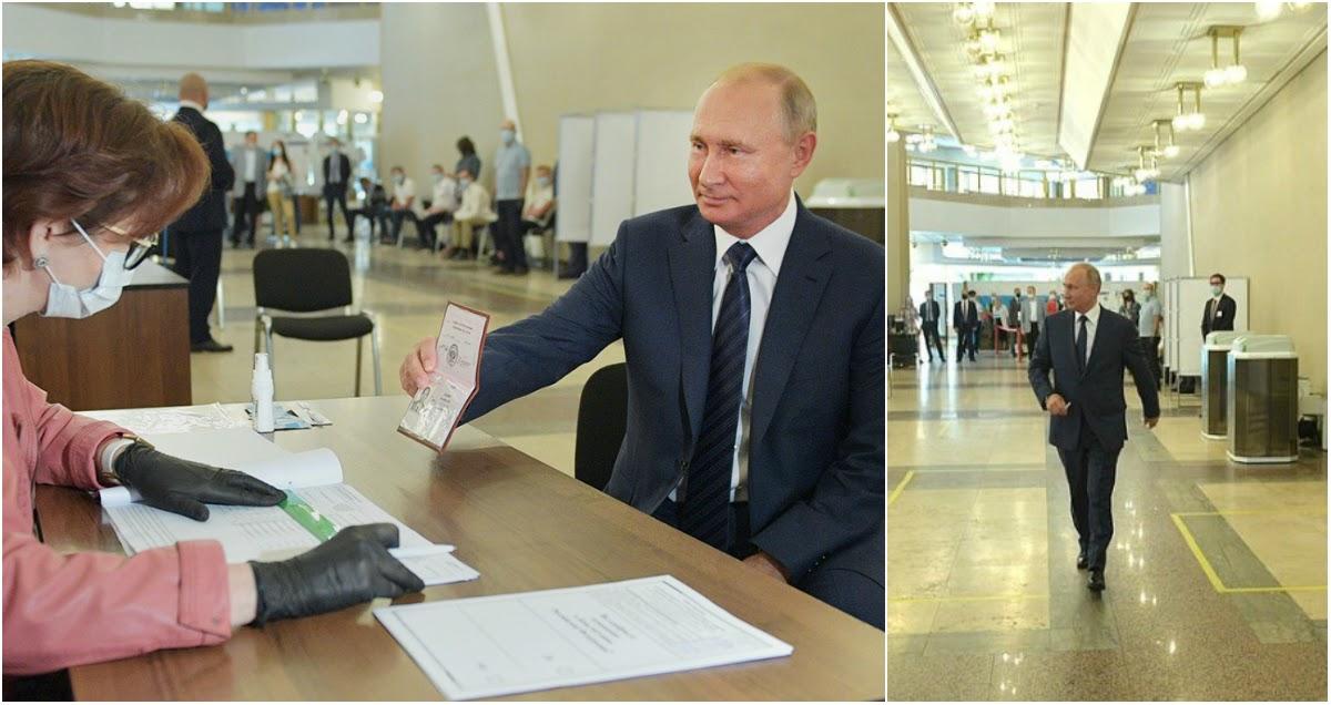 Кремль объяснил, почему Путин отказывается носить маску и перчатки