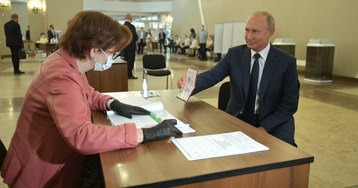 Триумф Путина. Поправки одобрили 77,92% избирателей - ЦИК