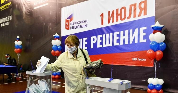 Участок Путина подкачал. Как регионы голосовали за и против поправок