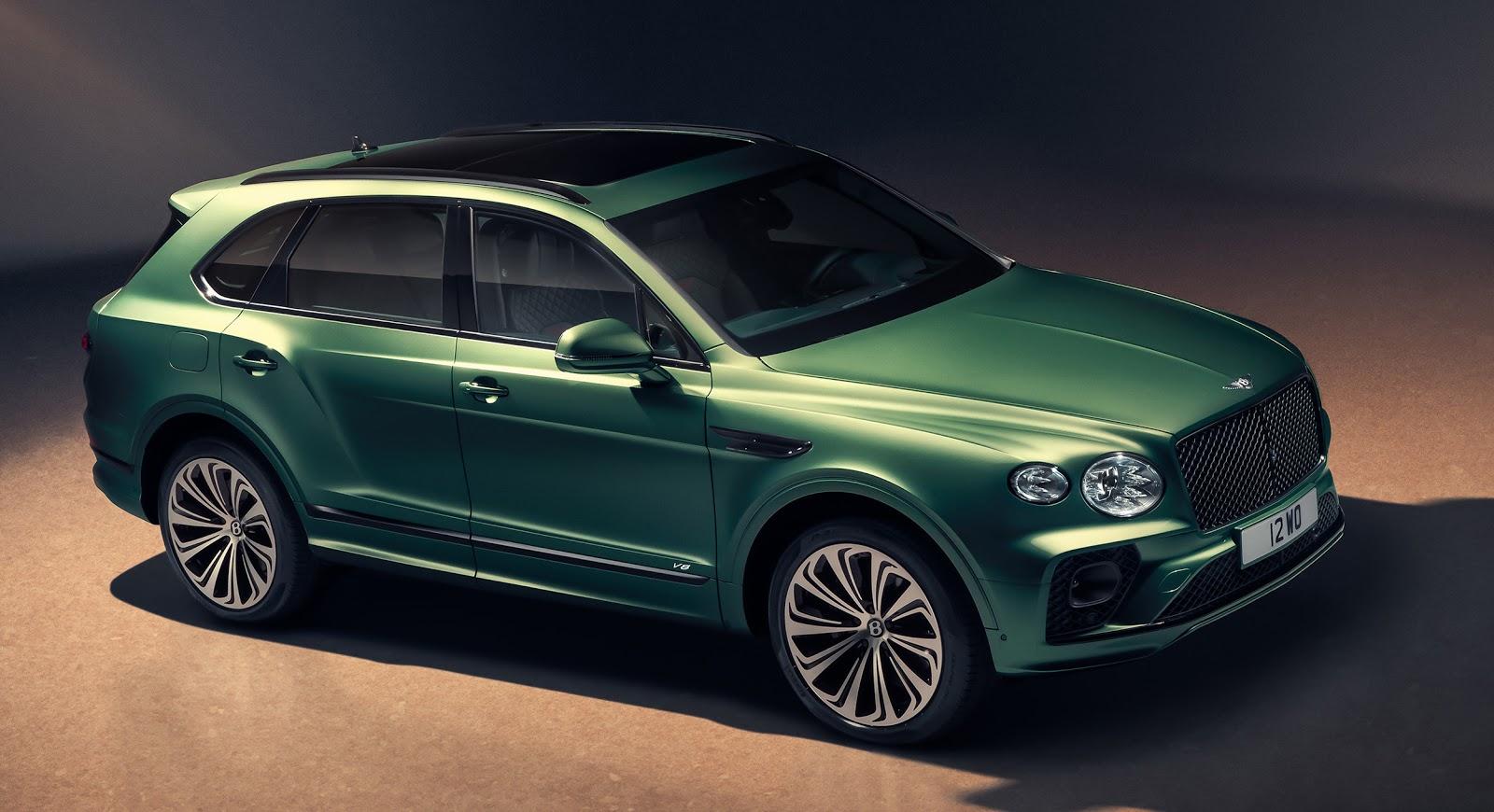 Bentley Bentayga: перевоплощенный