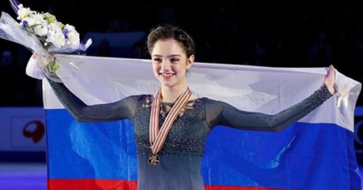 Евгения Медведева сменила тренера и вернулась в Москву