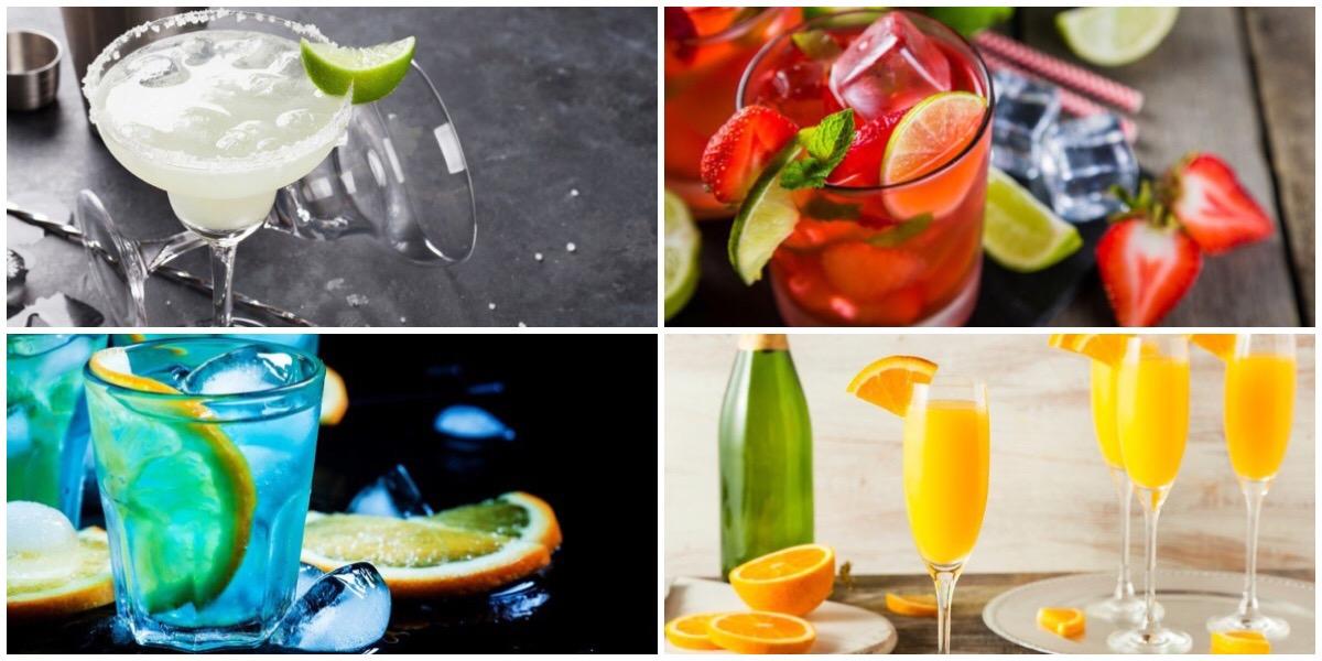 Подборка легких алкогольных коктейлей для летней вечеринки