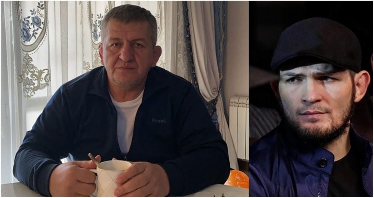 Хабиб прервал молчание и рассказал о смерти отца и тренера