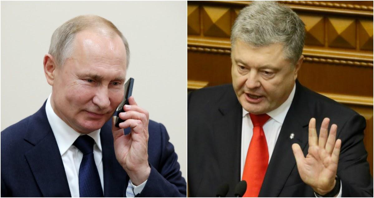 Кремль отреагировал на слитую запись «переговоров Путина и Порошенко»