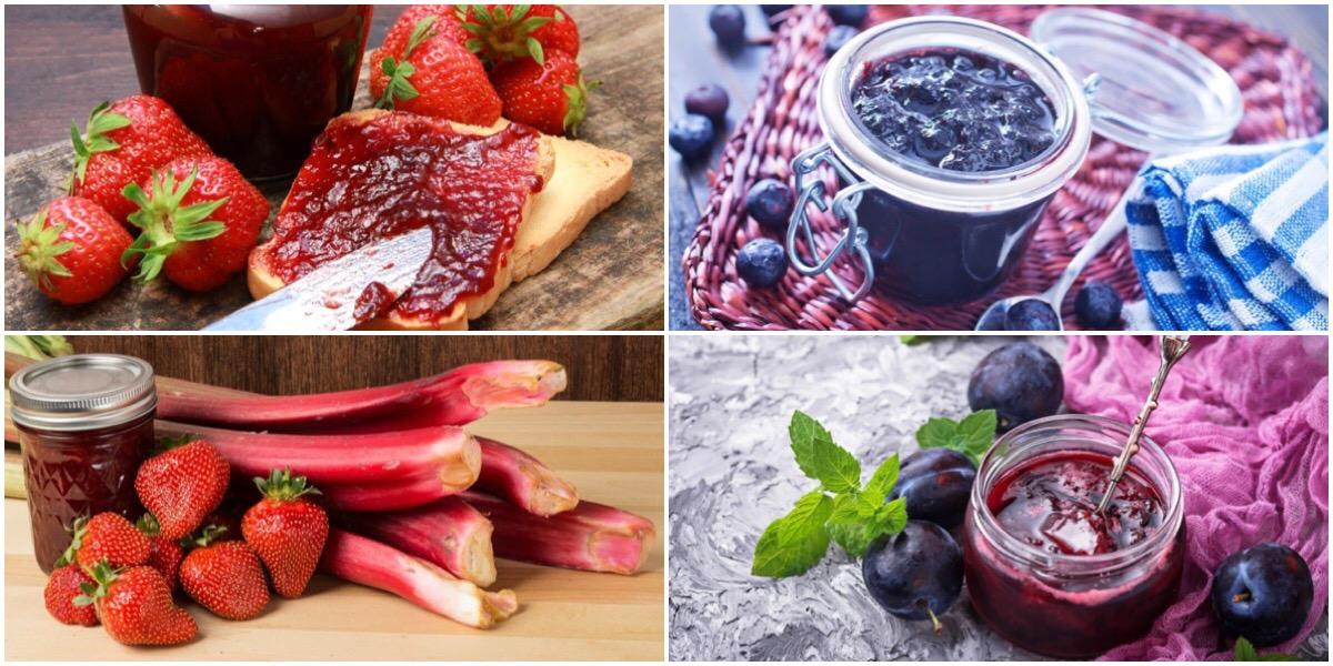 7 рецептов консервированного варенья
