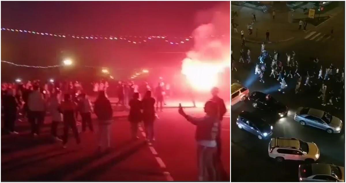 Хабаровск гудит: возмущенные жители устроили ночной массовый протест