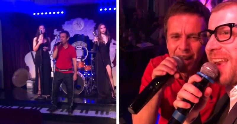 Андрей Губин впервые публично спел после 15-летнего перерыва
