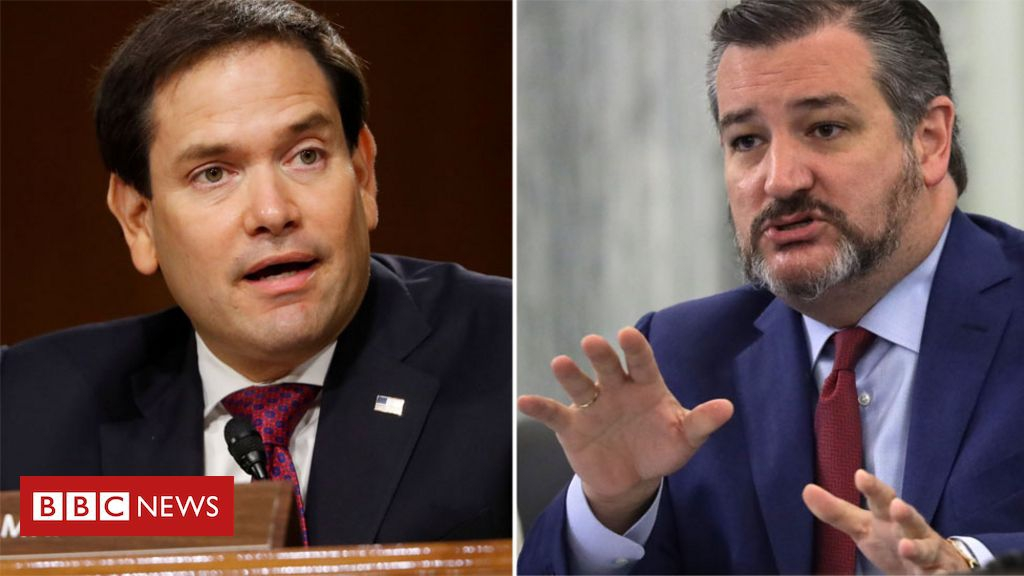 Xinjiang: Rubio and Cruz hit with tit-for-tat China sanctions