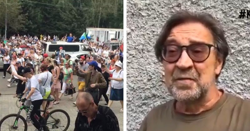 Шевчук записал обращение в поддержку протестующих в Хабаровске