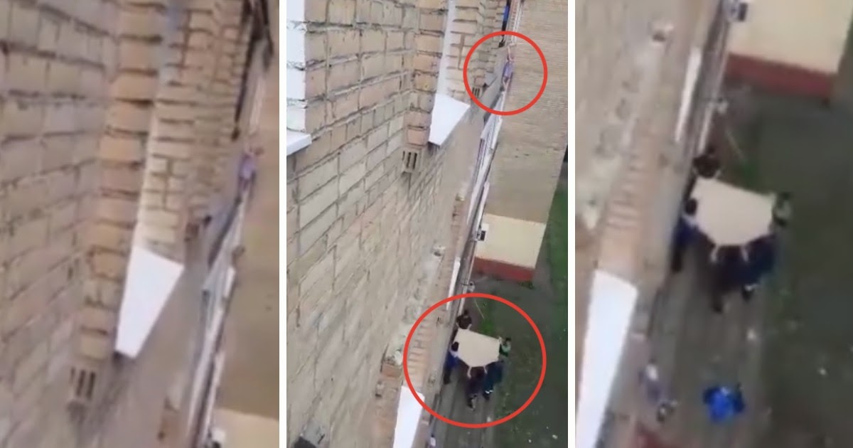 Спасение ребенка в Подольске: перелез через балкон, пока мать отсыпалась