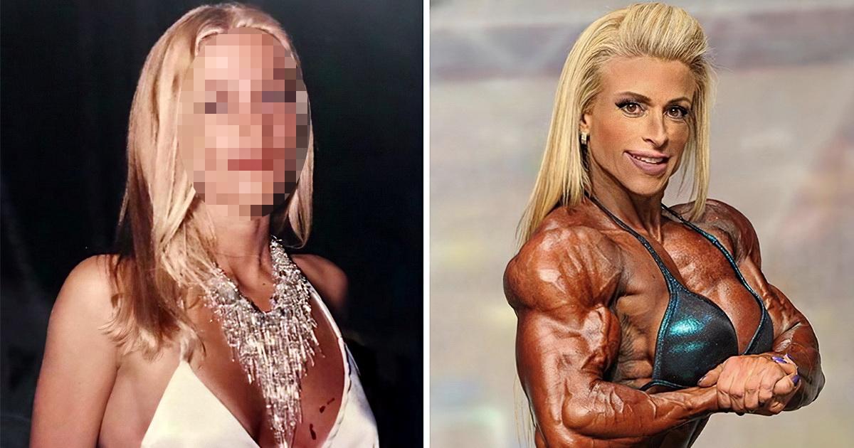 44-летняя бодибилдерша удивила подписчиков своим снимком в молодости