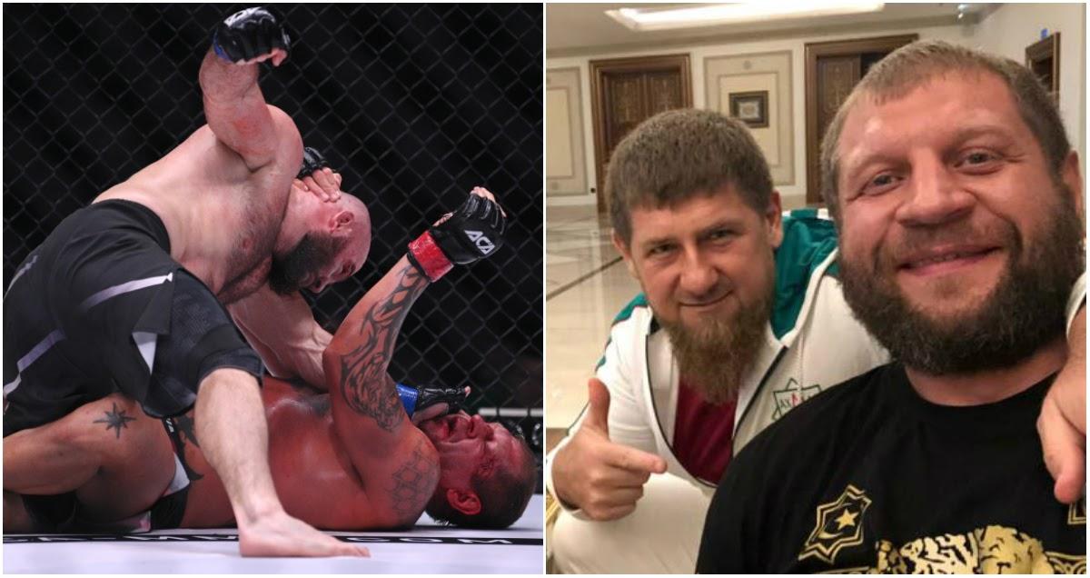 Кадыров разочарован: глава Чечни раскритиковал проигравшего Емельяненко