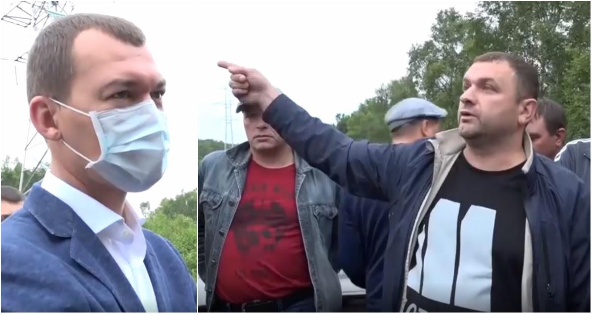Мужики «поймали и допросили» Дягтерева на дороге под Хабаровском