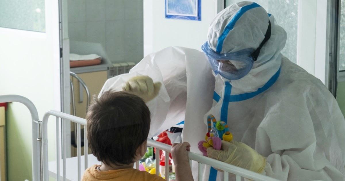В Петербурге у ребенка вновь нашли COVID-19 после курса лечения
