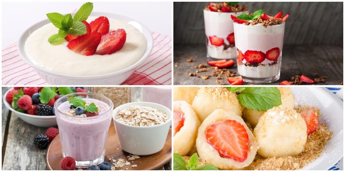 ТОП-7 сытных завтраков с ягодами
