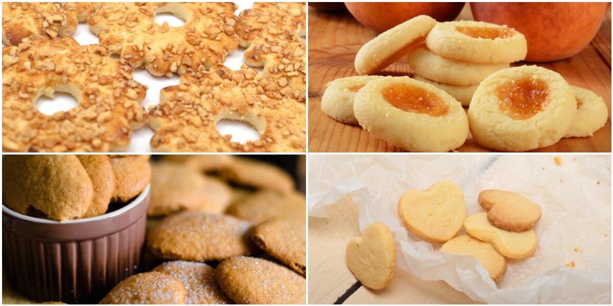 Подборка для любителей песочного печенья