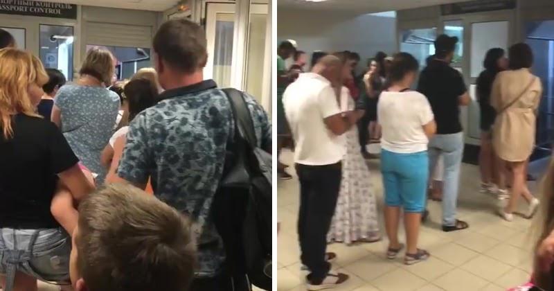 Вирусный туризм: россияне выстроились в очереди на границе с Абхазией