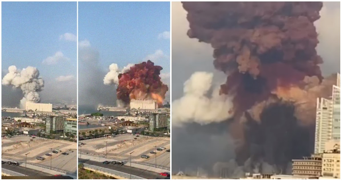 Апокалипсис в Бейруте: от небывалого взрыва пострадала половина города