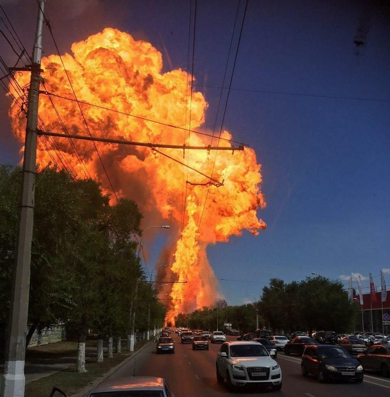 В Волгограде взорвалась газовая заправка - 8 пострадавших, один в тяжелом состоянии