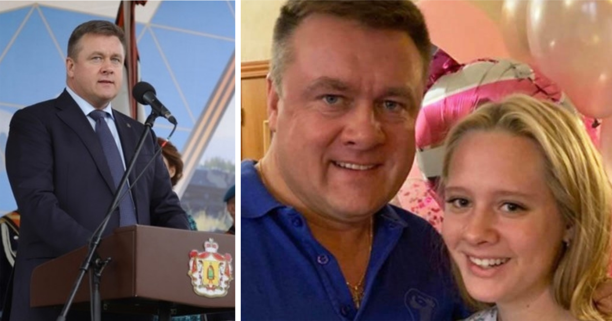 14-летняя дочь губернатора Рязанской области в 2019 году заработала вдвое больше отца