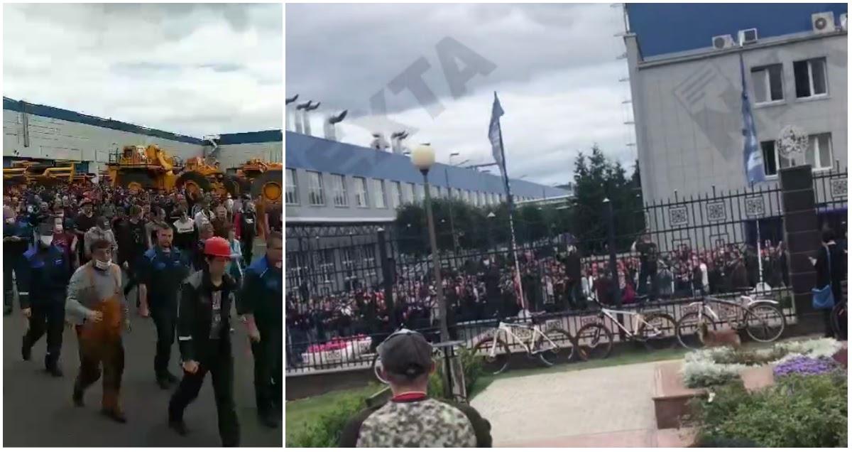 «Уходи!»: в Белоруссии началась общенациональная забастовка