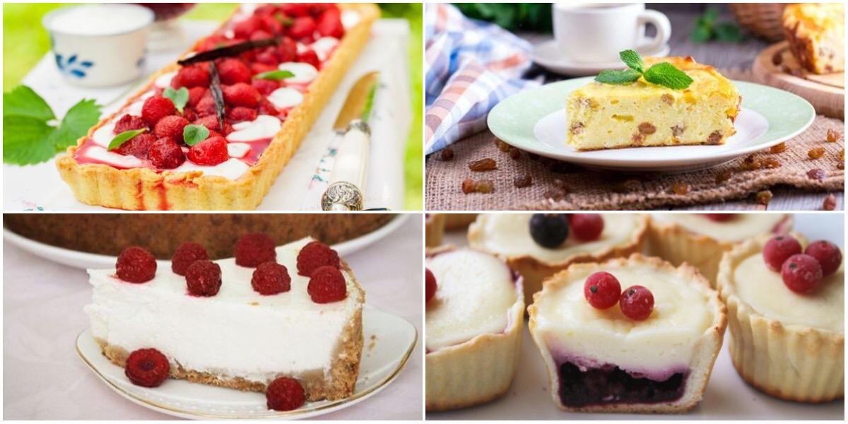 Подборка творожных десертов